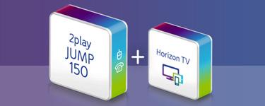 Unitymedia 2play + Horizon TV Symbole