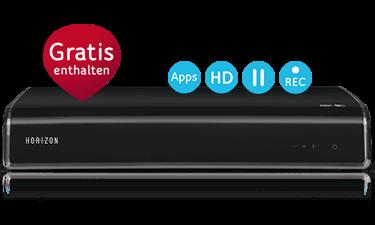 Unitymedia Horizon HD Recorder kostenlos