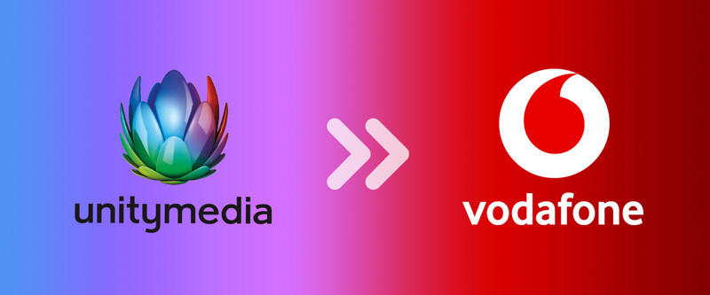 Unitymedia ist Vodafone klein
