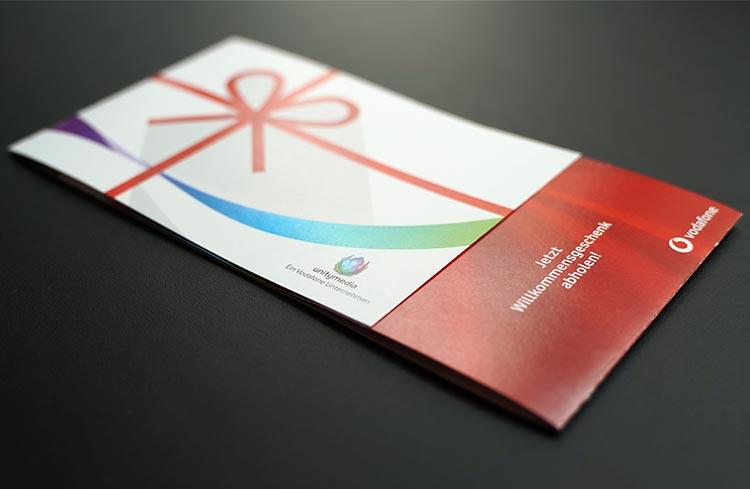 Vodafone Gutschein vorne
