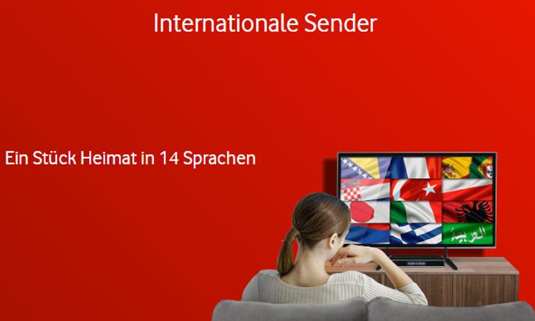 Vodafone Unitymedia Digital TV International