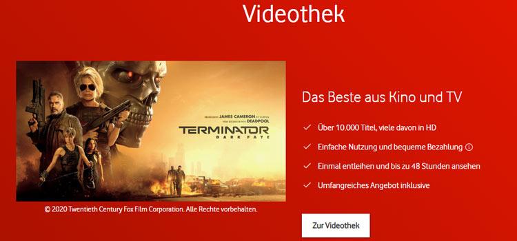 Vodafone Unitymedia Videothek