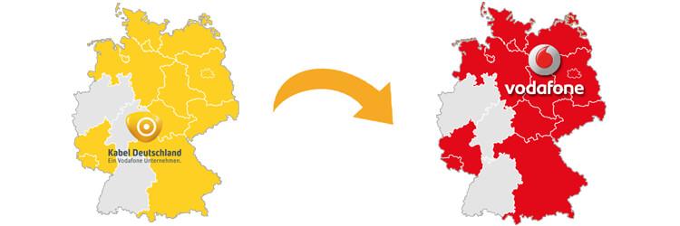 Kabel Deutschland wird zu Vodafone