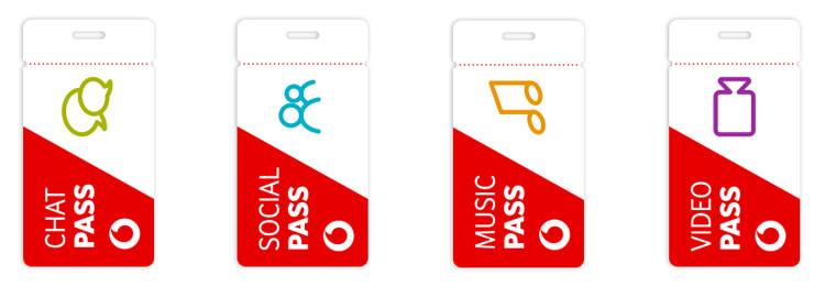 Vodafone Pass ab dem 26.10. zu allen Vodafone Red Mobilfunktarifen zubuchbar