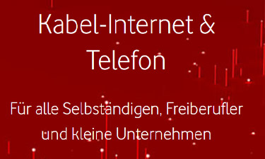 Screenshot: Business Angebote im Vodafone Online-Shop