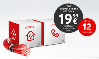 Screenshot Vodafone Online-Shop Internet & Phone Kabel