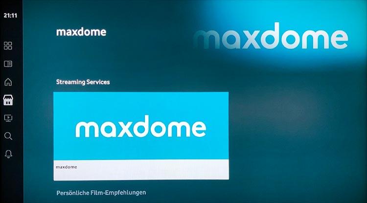 Vodafone GigaTV Net: Maxdome