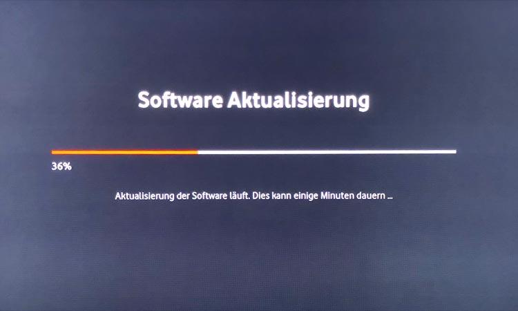 Vodafone GigaTV Net: Software-Update