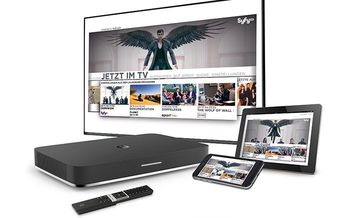 Endgeräte für Vodafone Giga TV