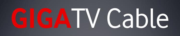 GigaTV Cable - Schriftzug