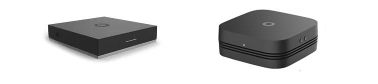 Giga TV Net Box für den DSL/VDSL Anschluss und die Giga TV 4K Box für den Kabelanschluss