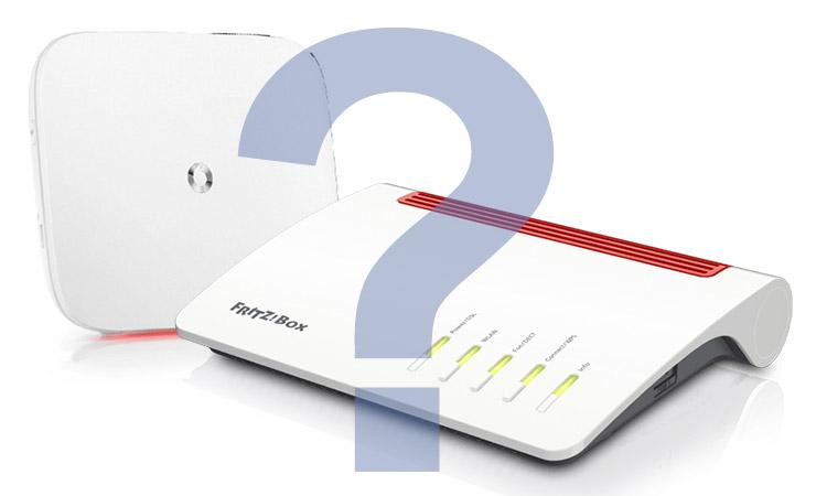 Vodafone Hardware im Vergleich: EasyBox 804 und AVM Fritz!Box 7590