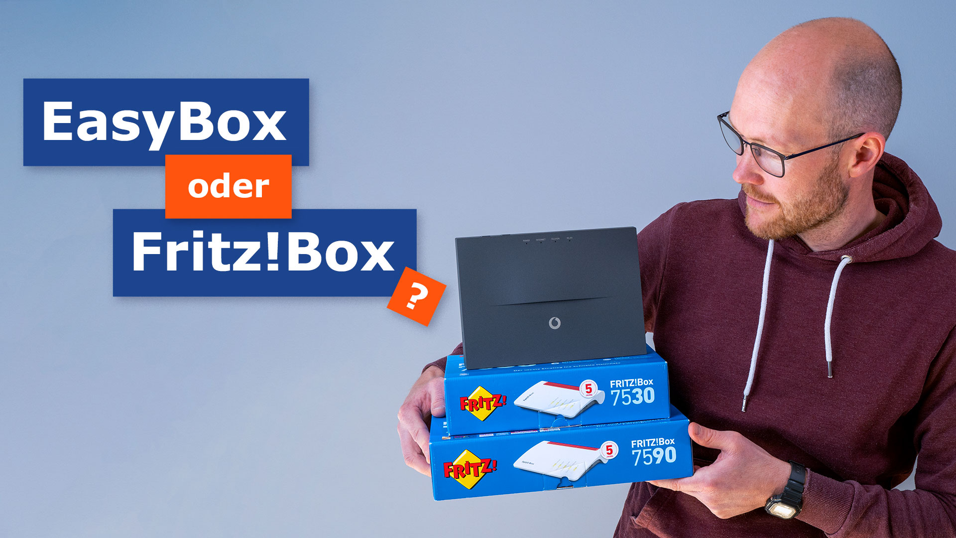 Vodafone DSL im Test: EasyBox und AVM Fritz!  Box