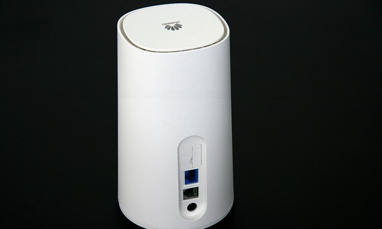 Vodafone Giga Cube - Rückansicht (von oben)