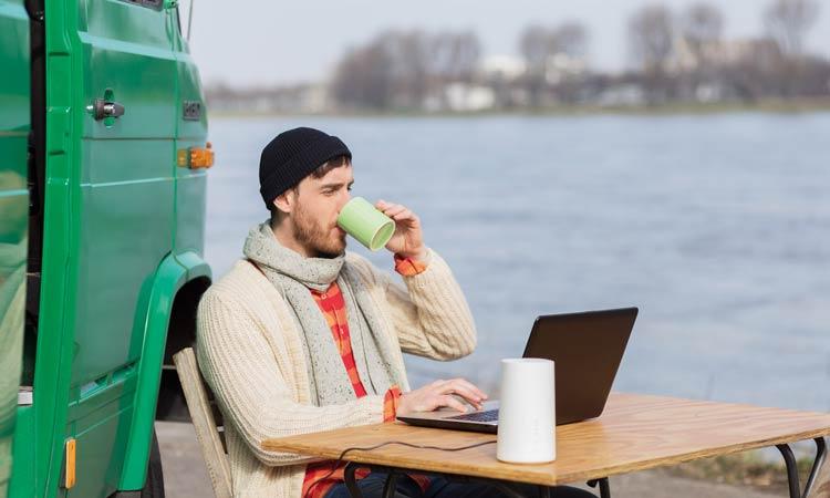 Vodafone GigaCube: Einsatz auch im Urlaub möglich