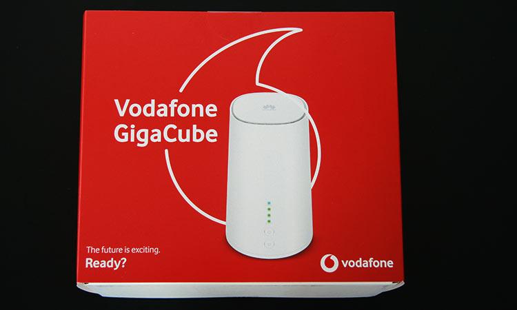 Vodafone Giga Cube - Verpackung