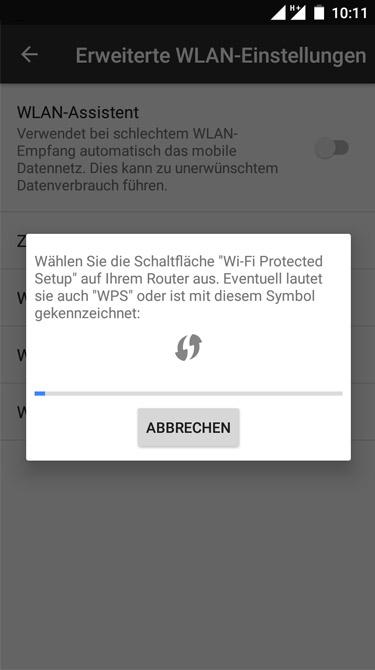 Vodafone Giga Cube - WLAN Verbindung herstellen (Schritt 1)