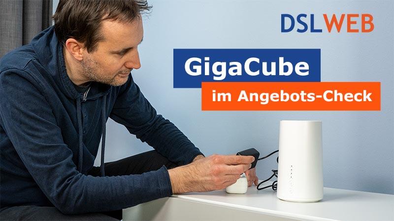 Vodafone GigaCube im DSLWEB Angebots-Check