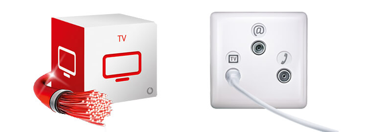 vodafone kabelanschluss so gibt es fernsehen ber die kabeldose. Black Bedroom Furniture Sets. Home Design Ideas