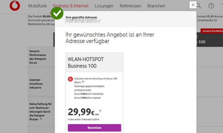 Vodafone Wlan Hotspot Business Tarife Alle Angebote Für