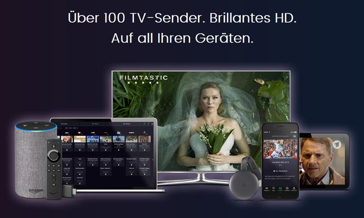 Waipu TV Endgeräte