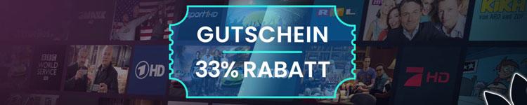 Waipu TV Frühjahrespaket bringt 33% Rabatt-Gutschein