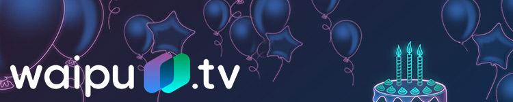 Waipu TV Geburtstagsangebot