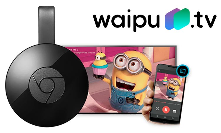 Google Chromecast und Waipu TV