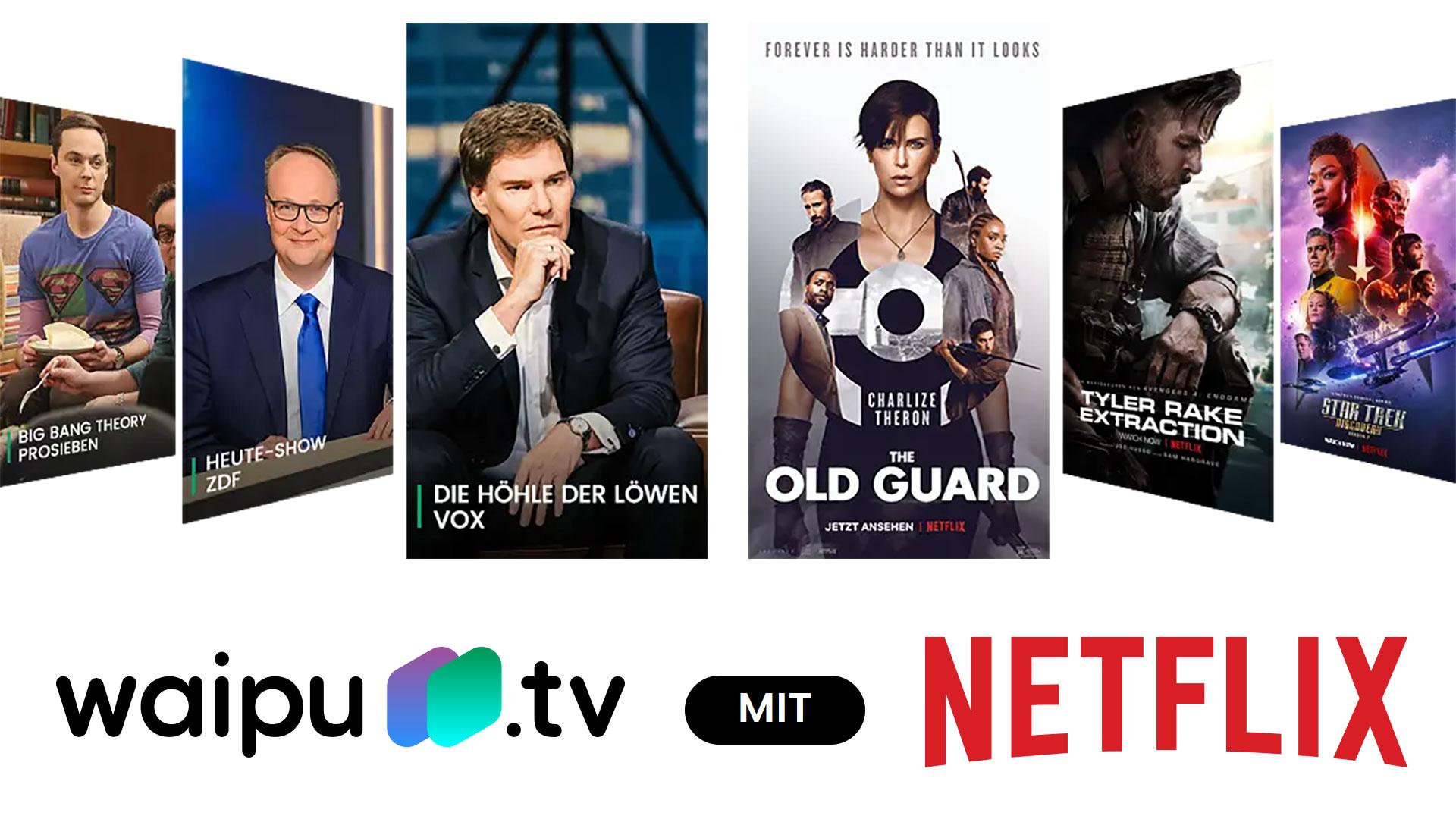 Waipu Netflix