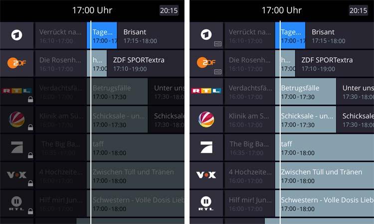 Waipu TV Senderliste gratis und Aboversion