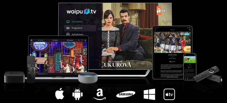 Waipu TV Türk-Paketi Geräte