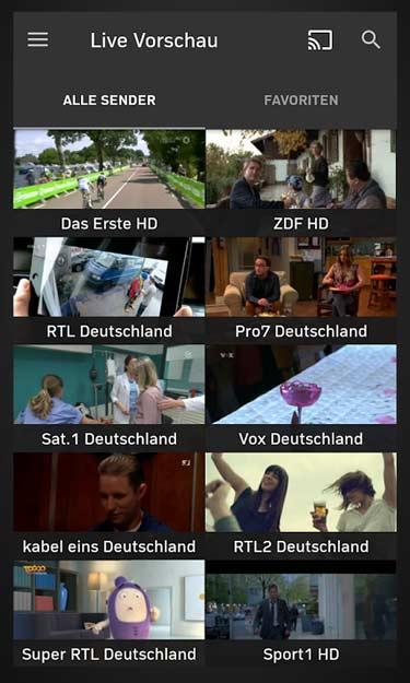 Zattoo TV App