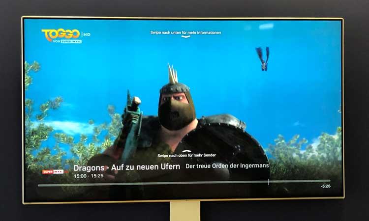 Zattoo auf Apple TV