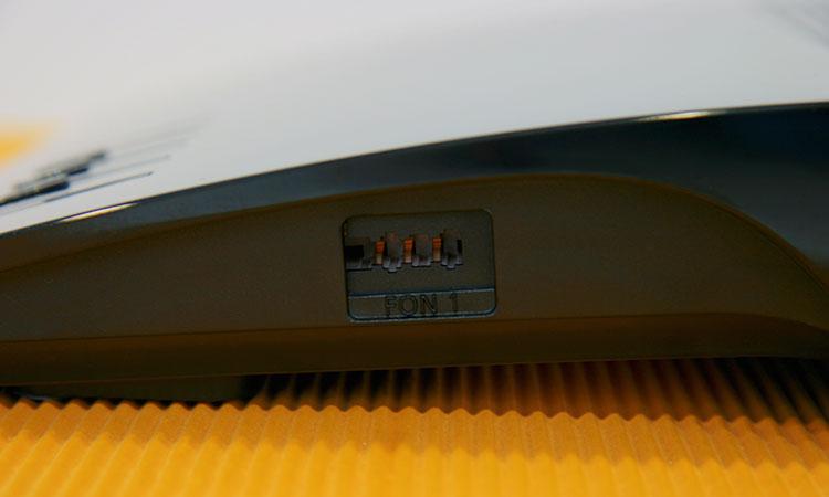 1&1 HomeServer Speed+ seitlicher Telefonanschluss