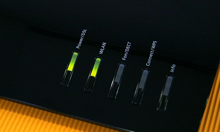 1&1 HomeServer Speed+ Leucht-Dioden