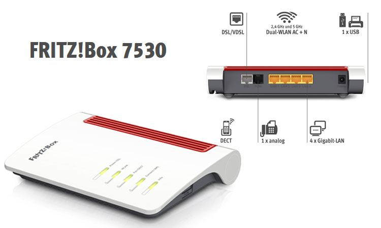 AVM Fritz!  Box 7530