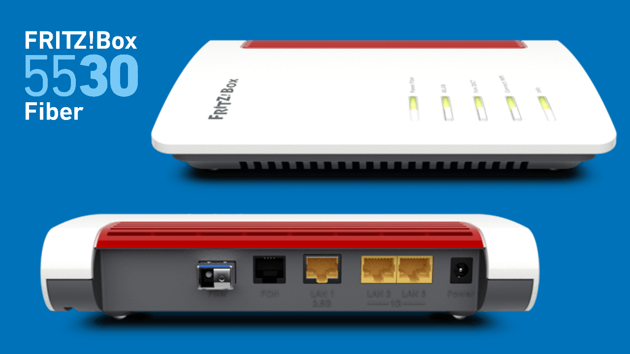 AVM FritzBox 20 Fiber   Router für jeden Glasfaseranschluss
