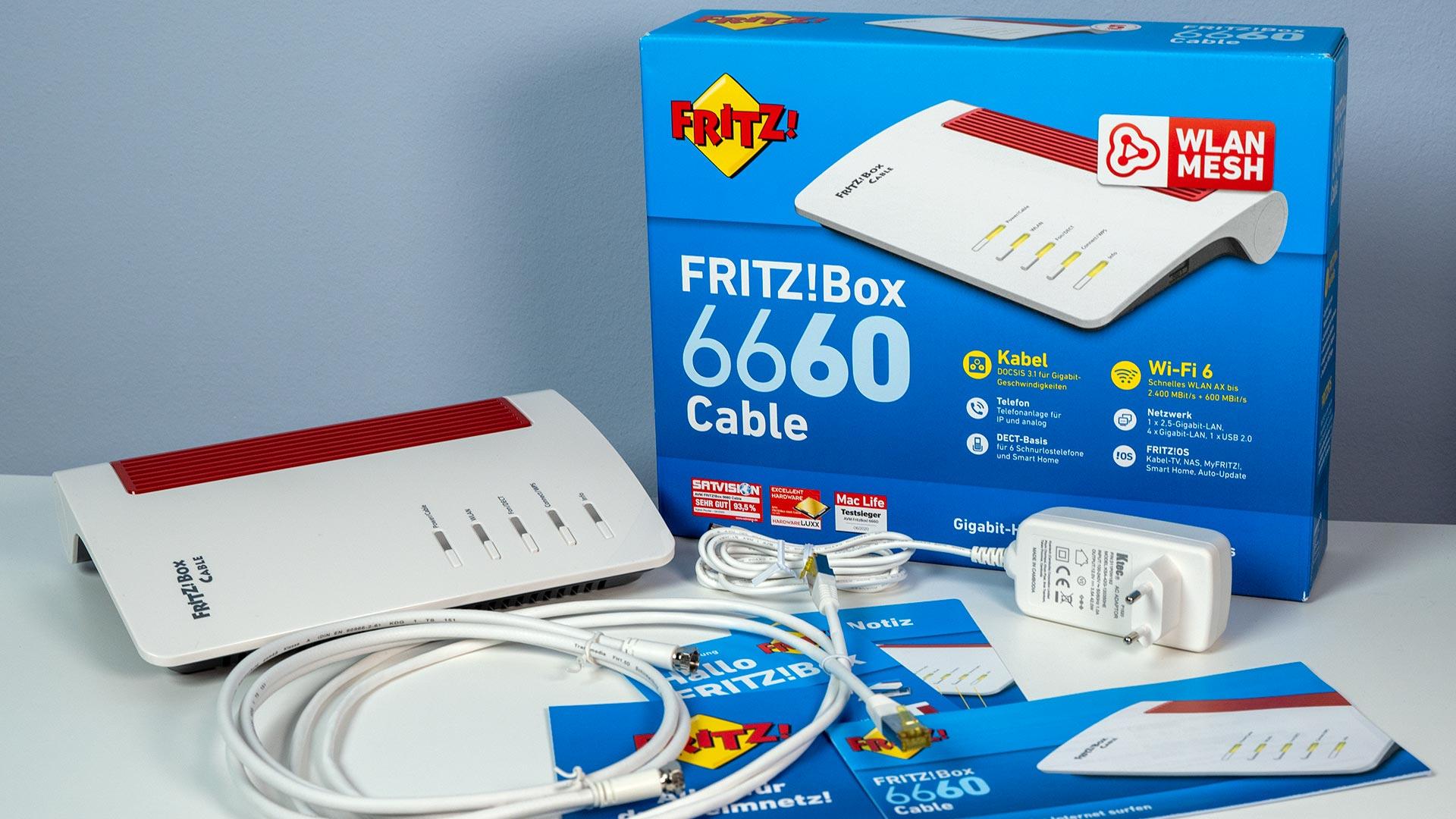 AVM FritzBox 20 Cable einrichten So klappt die Installation