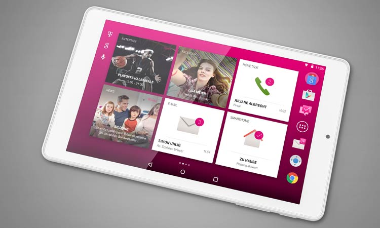 Telekom Puls Tablet Queransicht