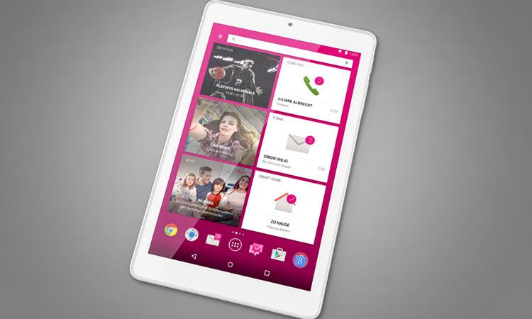 Telekom Puls Tablet Porträtansicht