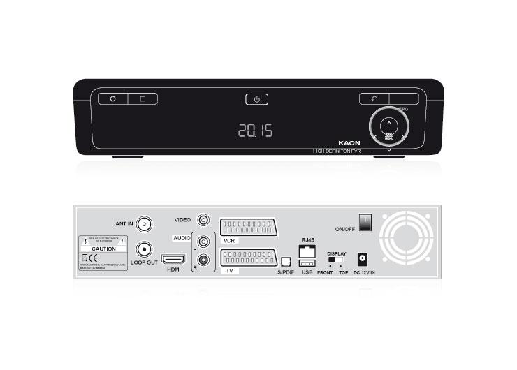 Tele Columbus HD Recorder Rückansicht (groß)