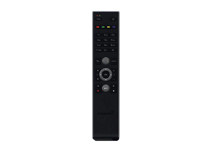 Unitymedia HD Receiver Fernbedienung (groß)