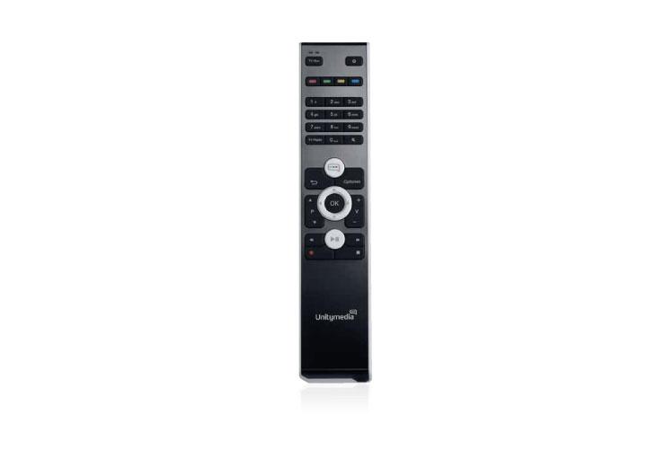 Unitymedia HD Recorder Fernbedienung (groß)