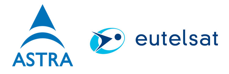 Logos Astra Eutelsat