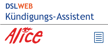 Kündigungs-Assistent Logo Alice