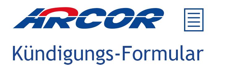 Kündigungs-Assistent Logo Arcor