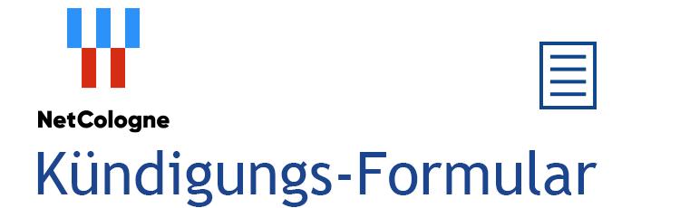 Kündigungs-Assistent Logo NetCologne