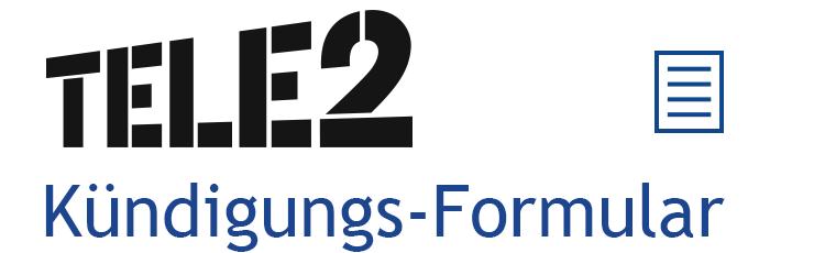 Kündigungs-Assistent Logo Tele2