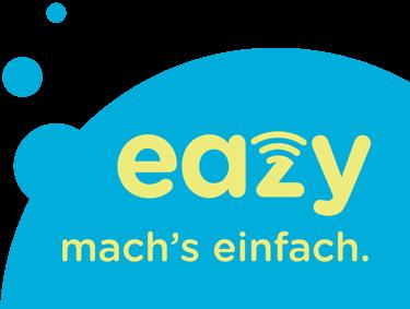 Logo Eazy mit Claim