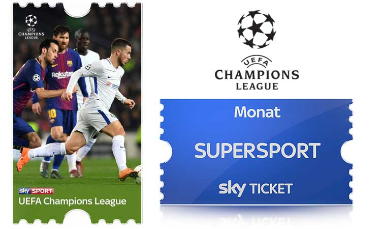 Sky Supersport Ticket Champions League
